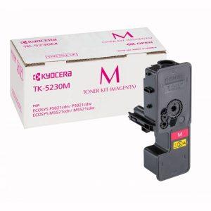 Kyocera High Yield Toner TK-5230M for M5521 P5021 Series- Yield - 2200