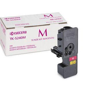 Kyocera Toner TK-5240M for M5526 : P5026 Series- Yield - 3000