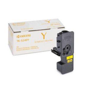 Kyocera Toner TK-5240Y for M5526 P5026 Series- Yield - 3000