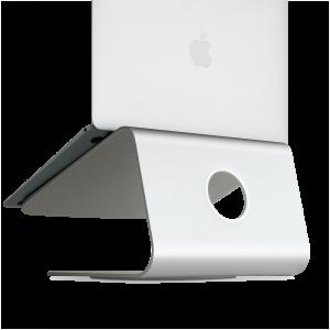 Rain mStand360 Laptop Stand w: Swivel Base - Silver