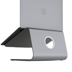 Rain mStand360 Laptop Stand w_ Swivel Base - Space Gray