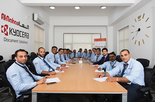 Al Nahar International Co Service center team